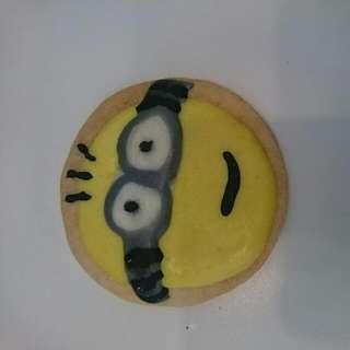 純手工自製的小小兵餅乾, 都是當天製作絕無防腐劑。