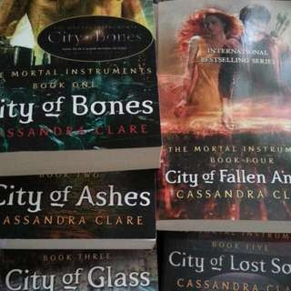 Mortal Instruments Books