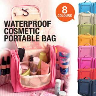 (Instock) Waterproof Travel Toiletries Quality Bag