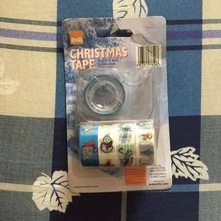 🎄聖誕節🎄裝飾膠帶 附透明膠台 圖案共五款💗