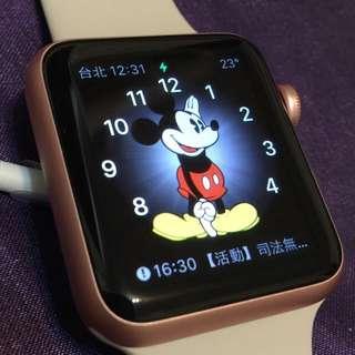 Apple Watch sport42玫瑰金