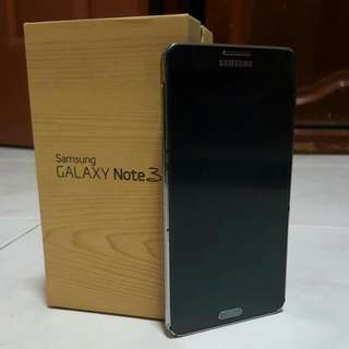 32GB SAMSUNG NOTE 3 BLACK (USED)