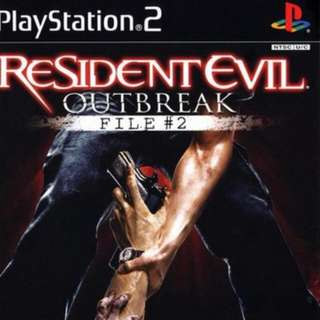 Looking For Ps2 Games Resident Evil Outbreak File 2 N Resident Evil Dead Aim