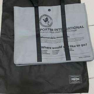 PORTER購物袋送防塵袋