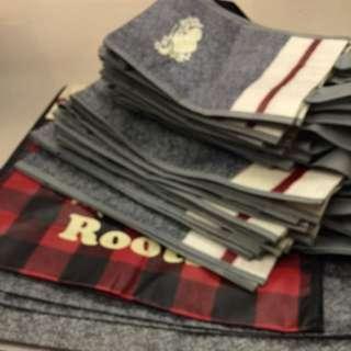 🍁Roots🍁加拿大品牌🍂VIP購物袋(包)大、中、小提袋,週年慶提袋...🎉✨🎈🎊光輝十月..