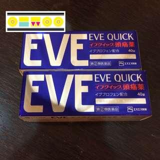 EVE頭痛藥 10/15-20日本連線商品