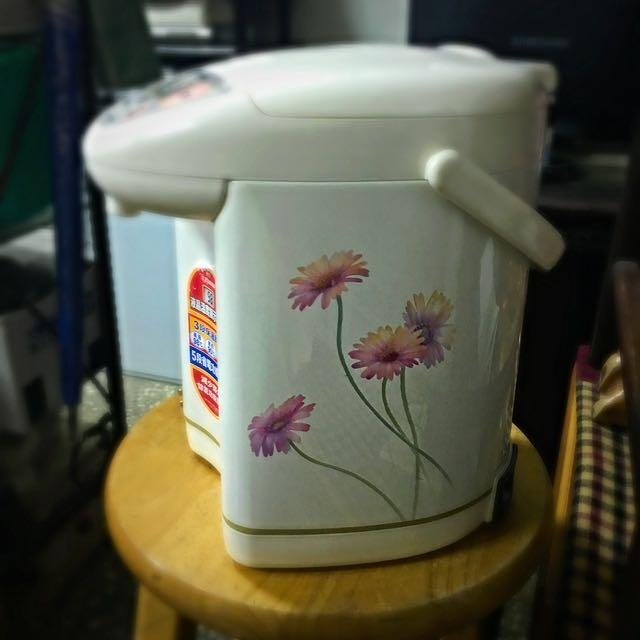 熱水器-旁邊還有花🌻