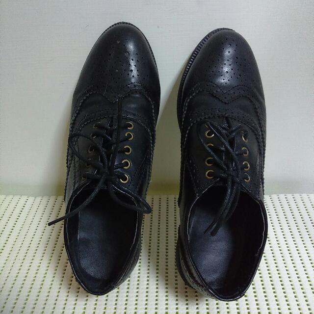 🎉免運🎉黑色牛津鞋