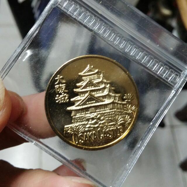 大阪城 紀念幣