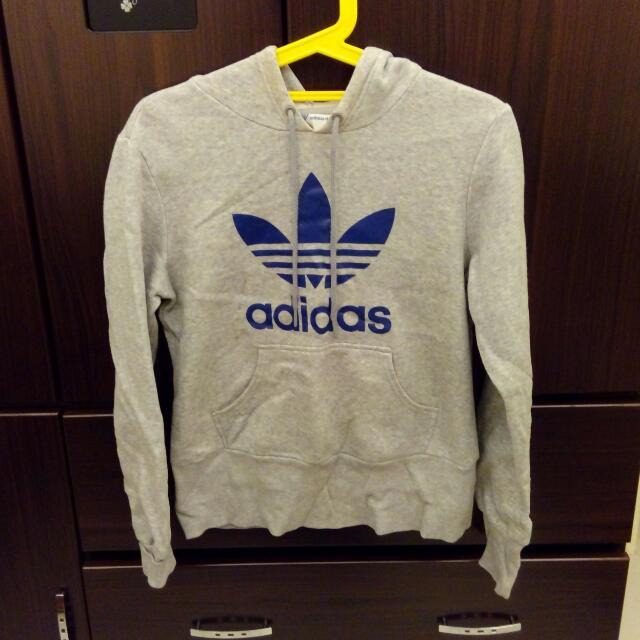 保留)Adidas 長袖帽T  保證正品