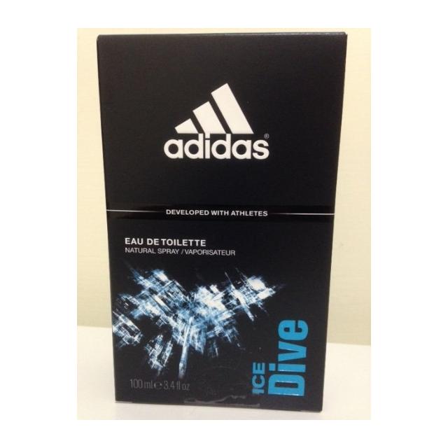 Adidas Ice Dive 愛迪達 品味透涼運動男性 香水 EDT 100ml 全新