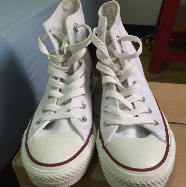🐜all star 帆布鞋 白色 converse