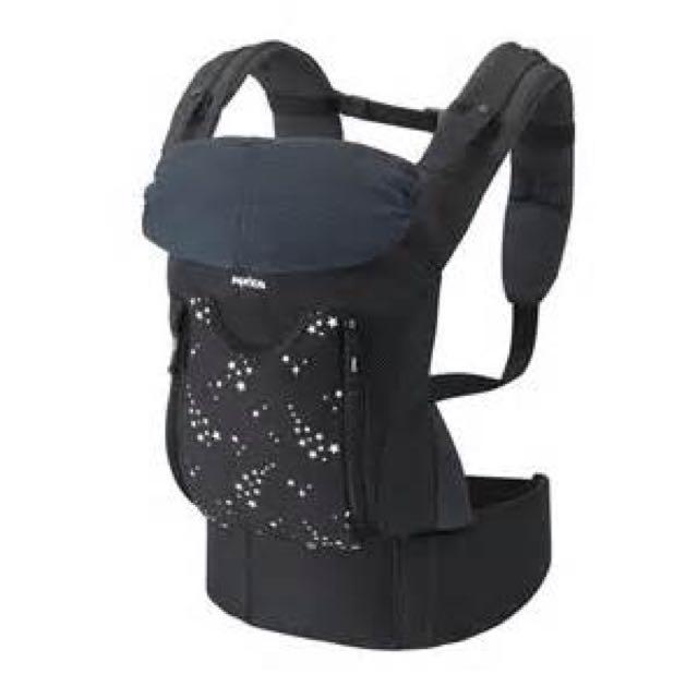 (含運)Aprica 愛普力卡 COLAN BELT-FIT 腰帶型三方向揹巾【黑點星空】