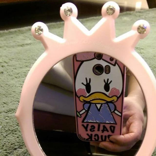 *ETUDE HOUSE*滿額禮 粉紅公主風 直立折疊兩用化收納妝鏡