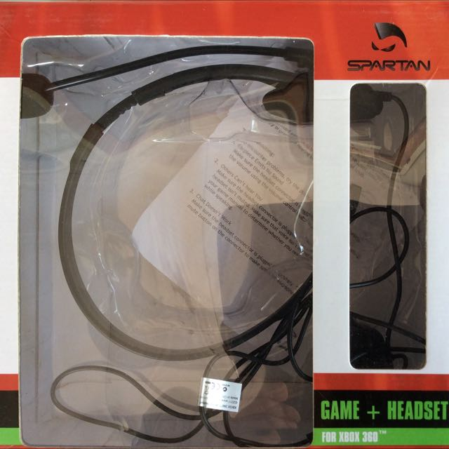 Gaming Headset Spartan XBOX360