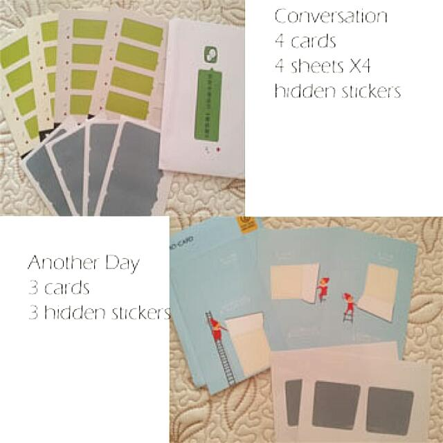 Hidden Message Cards And Postcards