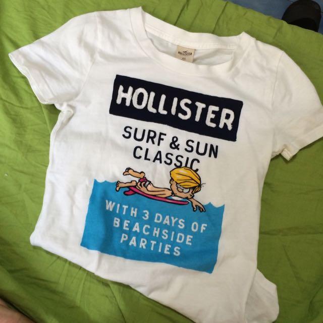 【二手】HOLLISTER XS tshirt