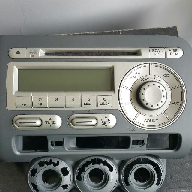 Honda Jazz Original Radio Headset Cars On Carousell