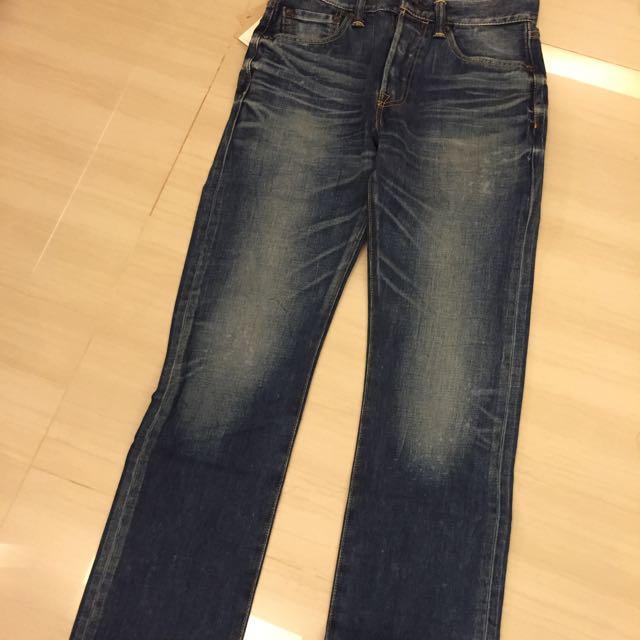 Levi's 501 Straight Leg Button Fly Jeans 全新台灣公司貨 日本製 W29 L32