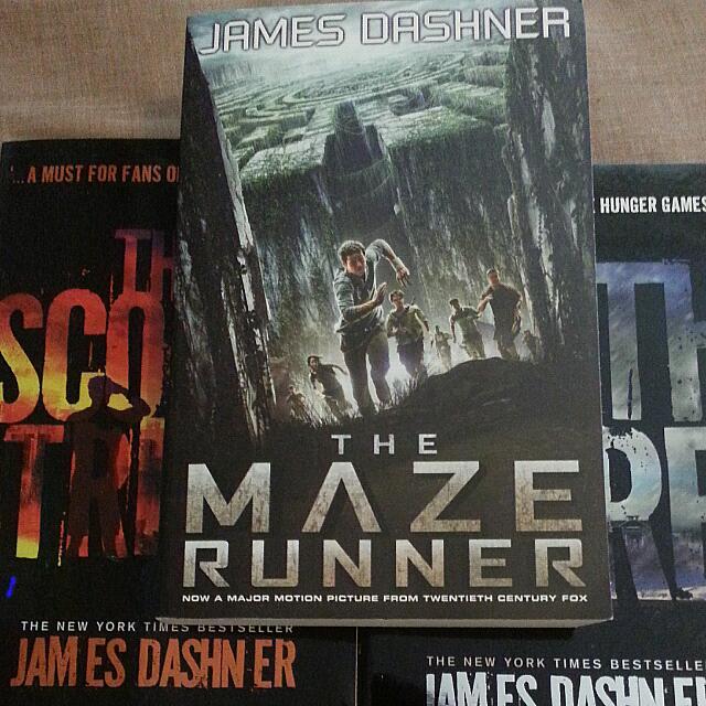 Maze Runner Books 1-3
