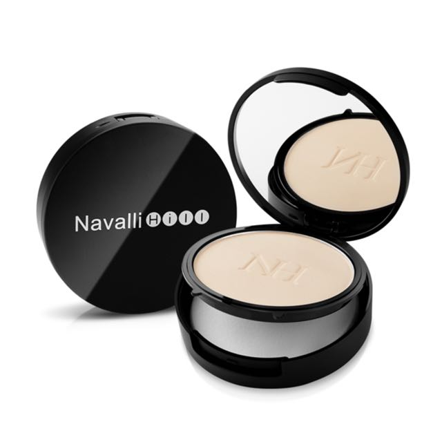 NH Navalli Hill 絲絨裸肌美白粉餅-自然色