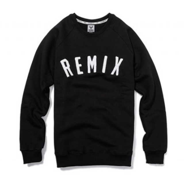 REMIX 14' A/W The REMIX Sweater 黑M 衛衣 大學T 毛衣 全新 tee