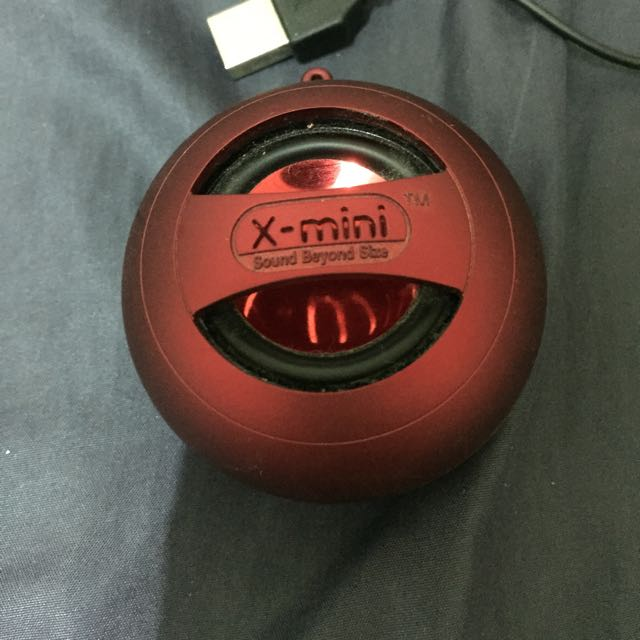X Mini 重低音小喇叭(非藍芽!)