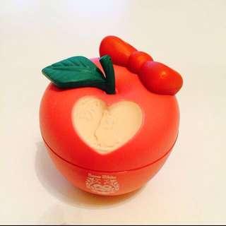 迪士尼✨白雪公主✨蘋果 置物盒 轉蛋