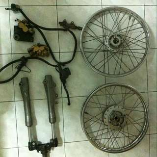 Rim 125z And pump 125z for sell.