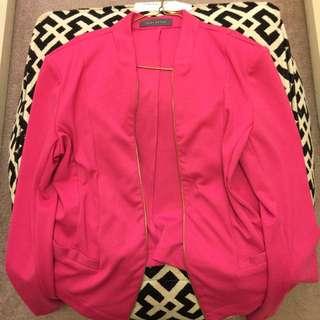 Hot Pink Jacket SZ XL