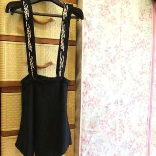 破盤新低價☝️二手❗️個性女孩✨吊帶裙📢