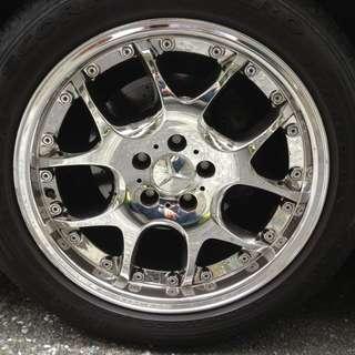 賓士車用鋁圈