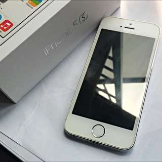 WTS IPHONE 5S SILVER 32GB