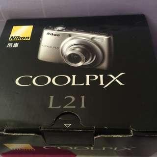Nikon camera Coolpix l21