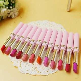 12 Colours Lipstick Set