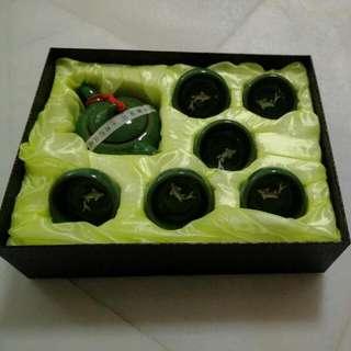 Brand NEW Eu Yan Sang Chinese Tea Pot Set For Sale (Sold Already)