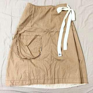 含郵 a la sha窄長裙