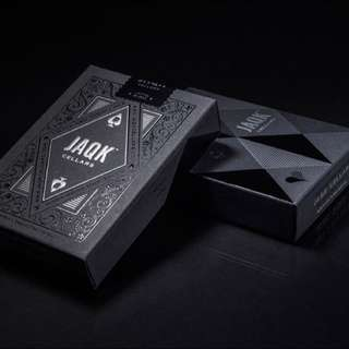Black JAQK Cellar Poker Cards (Rare)