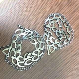 金屬肩帶鍊