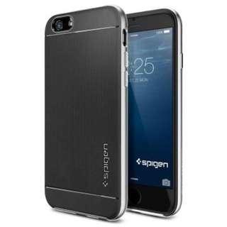 全新spigen iPhone 6 neo hybrid 雙層邊框手機保護殼(黑色)iPhone 6手機殼