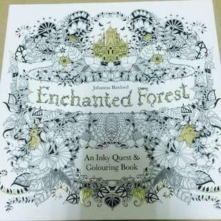 (含運)Enchanted Forest 魔法森林(原文版)