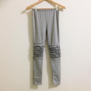 特殊設計灰色內搭褲