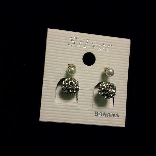 珍珠抗過敏耳環