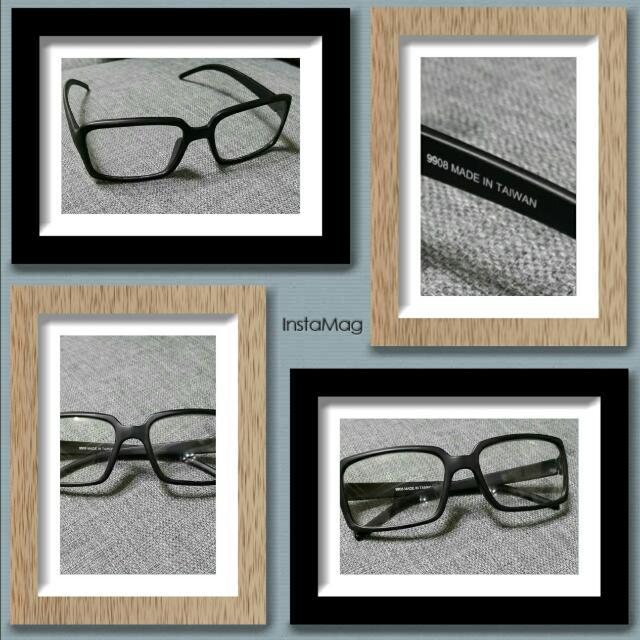 復古#文青#粗黑框#造型眼鏡