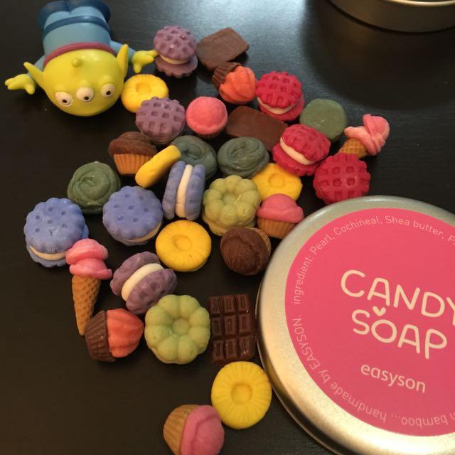韓國 糖果手工皂