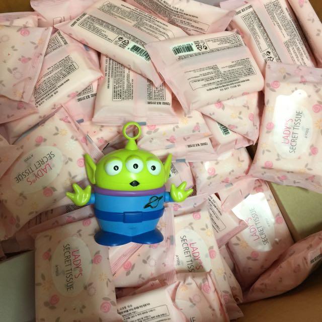 韓國 Apieu 私密處濕紙巾 一包