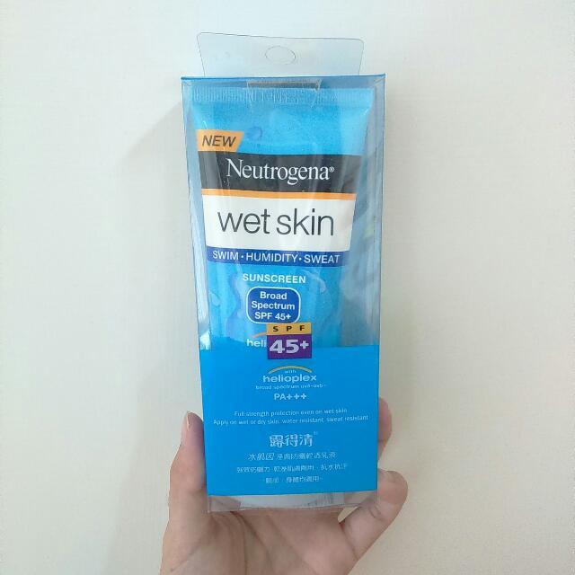 🎉免運🎉露得清水肌因濕膚防曬清透乳液 SPF45+ 88ml(臉部身體均適用)