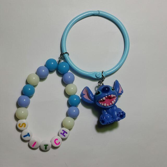 史迪奇 Stitch 手作 吊飾/鑰匙圈