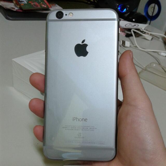 Apple iphone 6 16g 太空灰 保固內