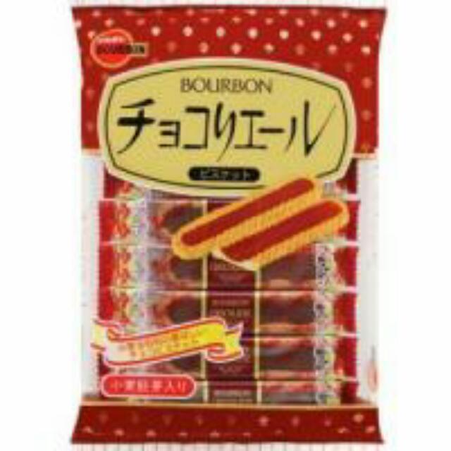 日本Bourbon巧克力夾心